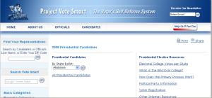 Project Vote Smart