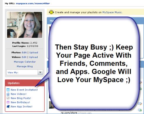 Wavecritter MySpace