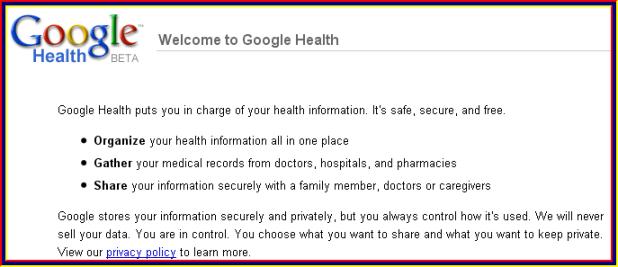 googleehealth